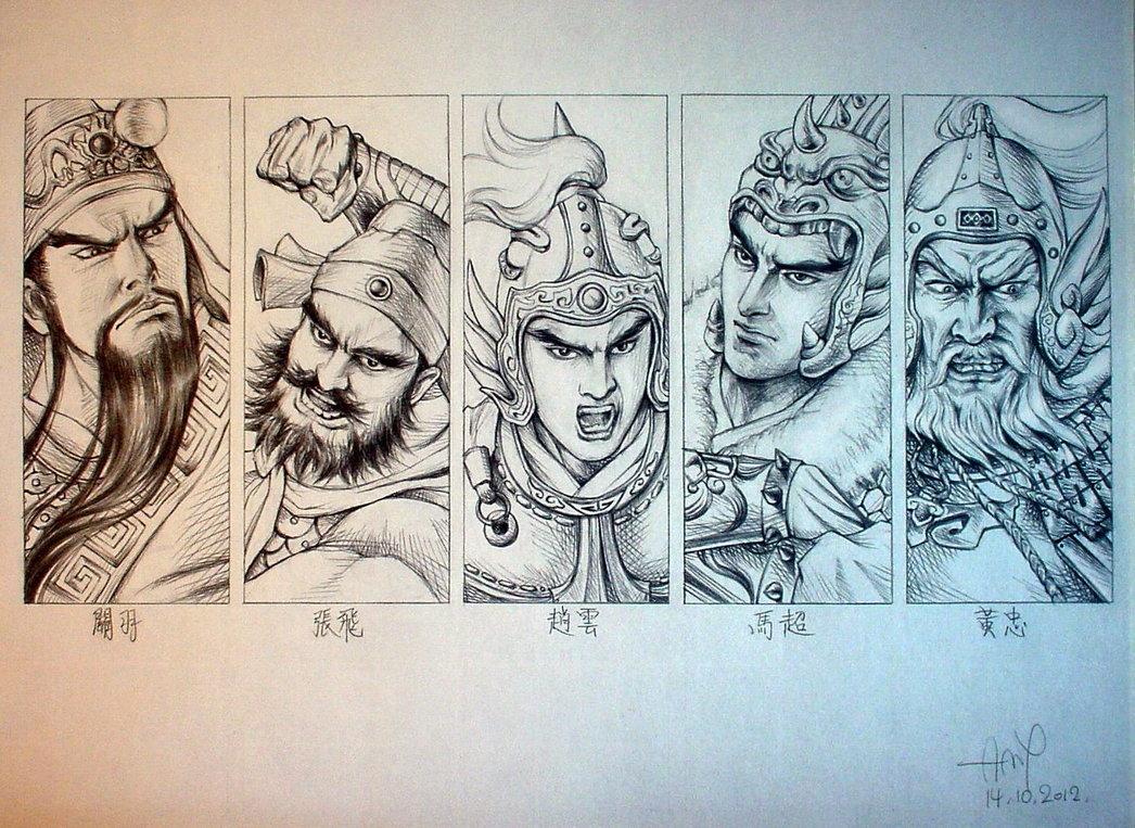 the_five_tiger_generals