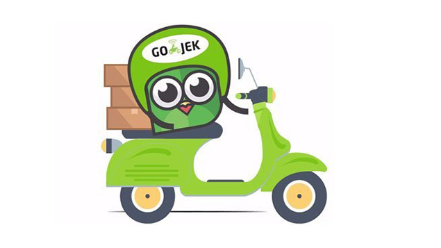 gojek kurir bernama go send